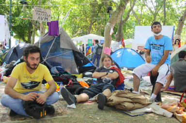 Pasifist Activists of Gezi Park