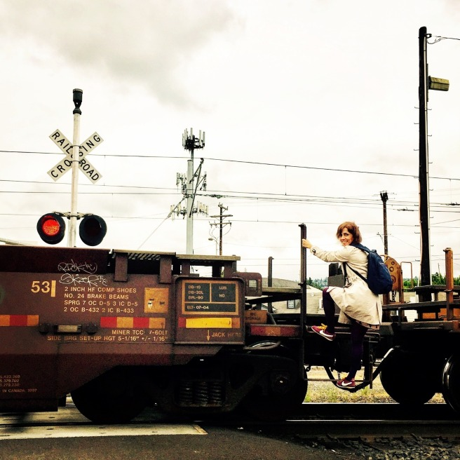 trene atlarken